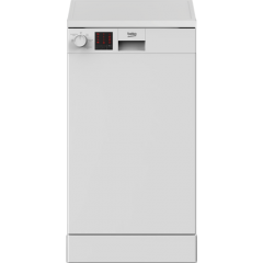 Beko DVS05C20W Slimline 10 Place Settings Dishwasher