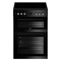 Beko EDC633K 60cm Double Oven Electric Cooker