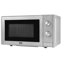 Beko MOC20100S 20 Litre 700W Solo Microwave Oven - Silver