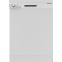 Blomberg LDF30210W 60cm Dishwasher with 14 Place Settings