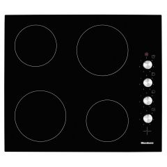 Blomberg MKN24001 Black Glass/Frameless 60cm Vitroceramic Hob