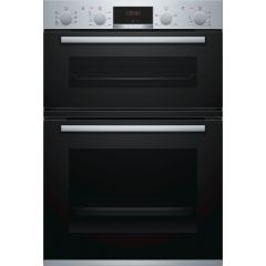 Bosch MBS533BS0B Serie 4 Built-In Electric Double Oven
