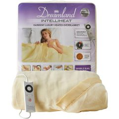Dreamland 16321 Heated Fleece Single Overblanket