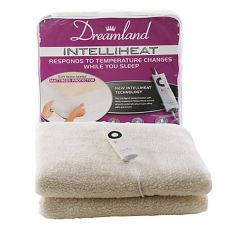 Dreamland 6965 Single Fleecy Heated Matress Cover
