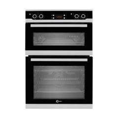 Flavel FLV92FX 90cm Built-In Fan Double Oven - Stainless Steel