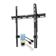 Hama 109898 `All in One` FIX Home Entertainment Set Wall Bracket Screen Size up to 127cm