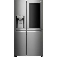 LG GSX960NSVZ InstaView Door-in-Door™ American Style Fridge Freezer - Premium Steel