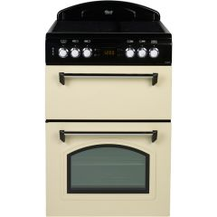 Leisure CLA60CEC 60cm Ceramic Classic Mini Range Cooker with Double Oven