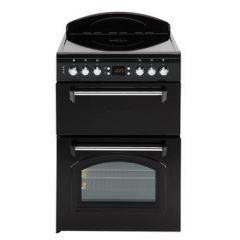 Leisure CLA60CEK 60cm Ceramic Classic Mini Range Cooker with Double Oven