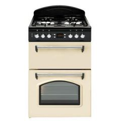 Leisure CLA60GAC 60cm Gas Classic Mini Range Cooker with Double Oven