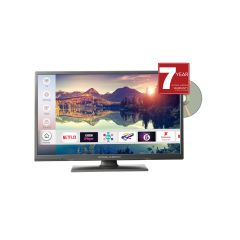 Mitchell + Brown JB241811FSMDVD 24 inch HD Ready Smart TV With Built In DVD Player