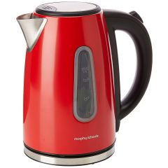 Morphy Richards 102774 Red Stainless Steel Equip 1.7L Rapid Boil Jug Kettle