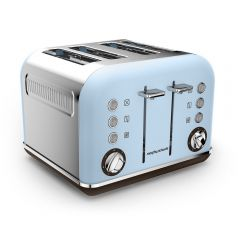 Morphy Richards 242100 Accents Azure 4 Slice Premium Special Edition Toaster
