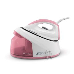 Morphy Richards 333101 Jet Steam Plus Pink Compact Steam Generator
