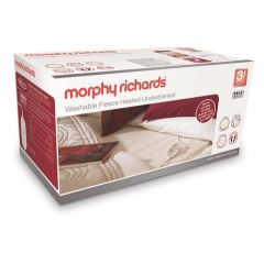 Morphy Richards 600014 King Dual Control Washable Fleece Heated Under Blanket