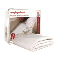 Morphy Richards 600111 Single Washable Heated Underblanket