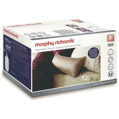 Morphy Richards 620011 Single Luxury Fleece 4 Heat Mattress Cover