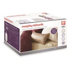 Morphy Richards 620012 Double Luxury Fleece 4 Heat Mattress Cover