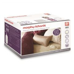 Morphy Richards 620013 King Luxury Fleece 4 Heat Mattress Cover