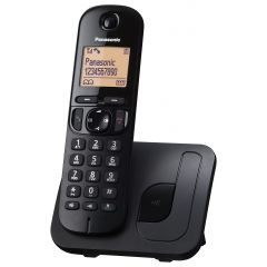 Panasonic KXTGC210EB Single Handset Digital Cordless Phone