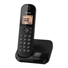 Panasonic KXTGC410EB Digital Cordless Phone (Single Handset)