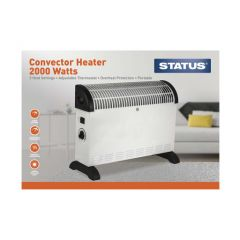 STATUS CONH-2000W1PKB 2000W Convector Heater