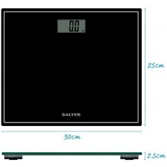 Salter 9207 Compact Glass Bathroom Scales