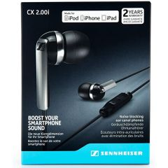 Sennheiser CX2.00G BLACK (506088) ANDROID In Ear Headphones (Integrated Smart Remote + Mic)