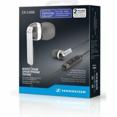 Sennheiser CX2.00G WHITE (506091) ANDROID In Ear Headphones (Integrated Smart Remote + Mic)