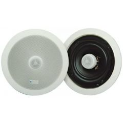 Skytronic 952.542 20cm (8`) Ceiling Speaker With Directional Tweeter