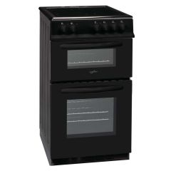 Statesman EDC50B ATLAS 50cm Double Oven Electric Cooker with Ceramic Top