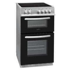 Statesman EDC50S ATLAS 50cm Double Oven Electric Cooker with Ceramic Top