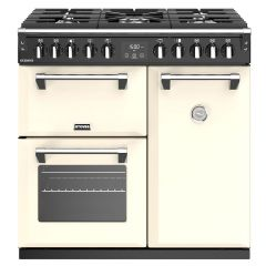 Stoves S900DF 444444436 Richmond 90cm Dual Fuel Cream Range Cooker