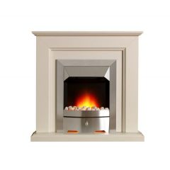Valor 05050Y2 CARLTON Optiflame Freestanding Suite with Stone Surround