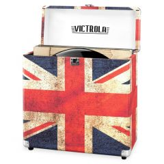 Victrola VSC20-UK Vinyl Record Storage Case - UK Flag