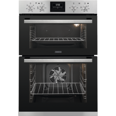 Zanussi ZOA35660XK Built-In Double Oven
