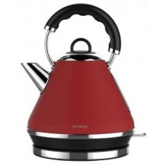 Linsar PK117RED (JK117RED) 1.7L Electric Cordless Pyramid Kettle