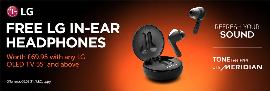 Free LG FN4 Earbuds with TV Promotion